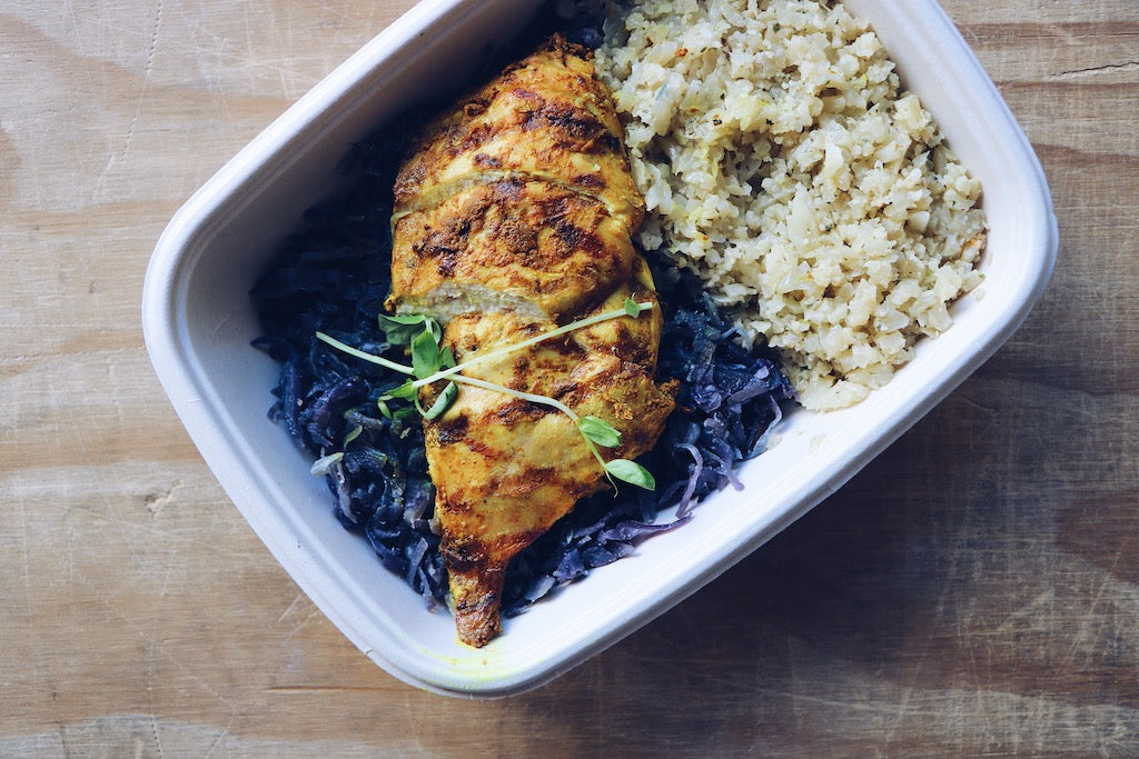 Tandoori Chicken (Wednesday) - Gluten Free Meals - Honey Bee Meals | Fresh Food Delivery Service Toronto