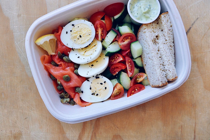 Lox Box (Wednesday) - Keto Breakfasts & Snacks - Honey Bee Meals | Fresh Food Delivery Service Toronto