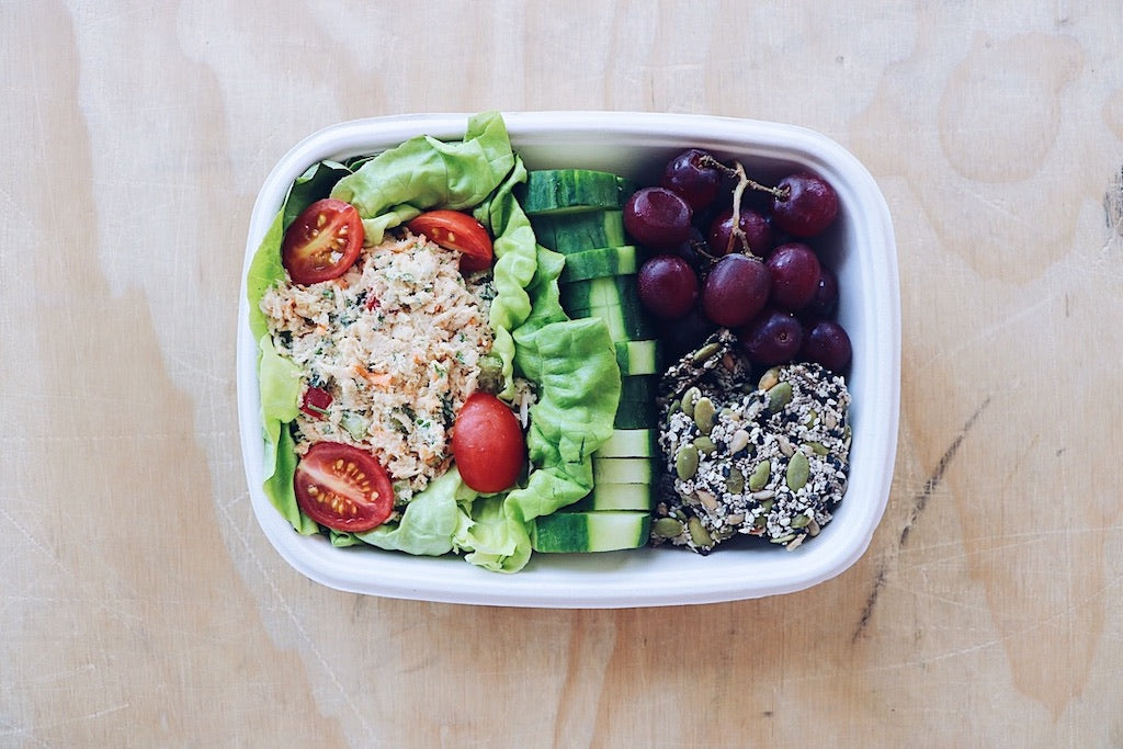 Tuna Salad - Healthy Snacks - Honey Bee Meals | Healthy Prepared Meals & Food Delivery Toronto