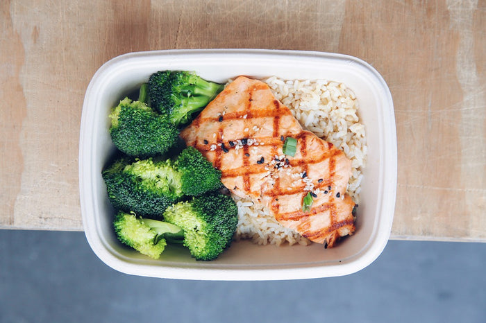 Sesame Salmon (Sunday)