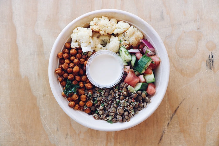 Mediterranean Bowl - Vegan Meal - Honey Bee Meals | Healthy Prepared Meals & Food Delivery Toronto