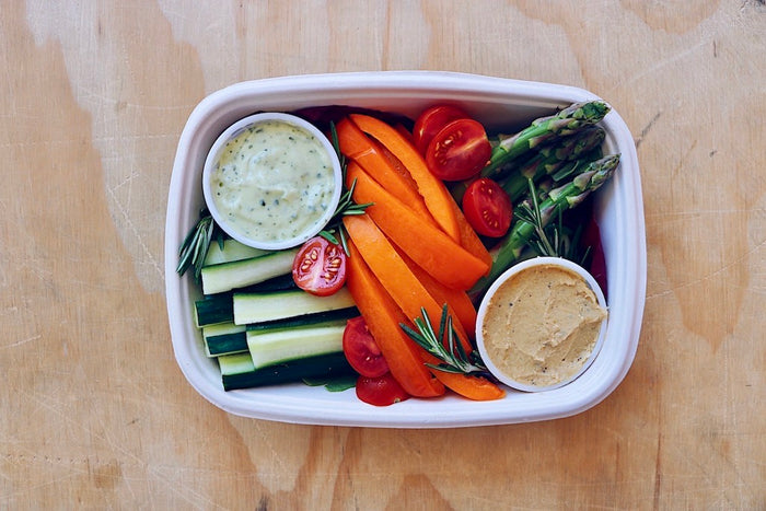 Veggie Box (Sunday) - Healthy Breakfast & Snack - Honey Bee Meals | Healthy Prepared Meals & Food Delivery Toronto