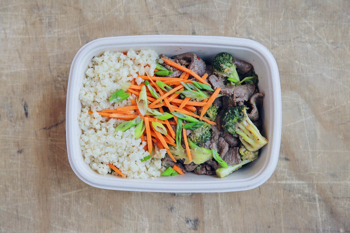 Beef & Broccoli Stir Fry (Wednesday) - Gluten Free Meals - Honey Bee Meals | Fresh Food Delivery Service Toronto