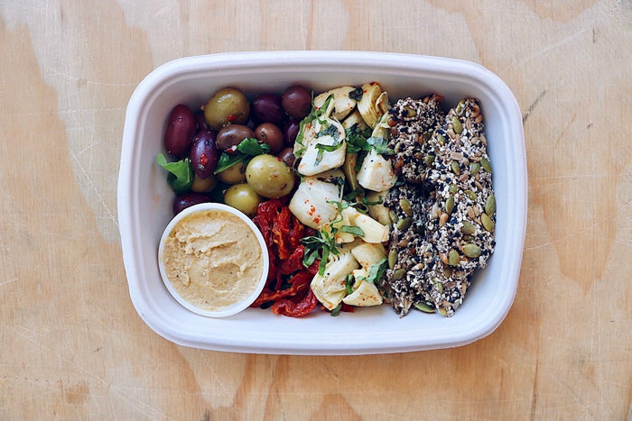 Vegan Mediterranean Box (Sunday)