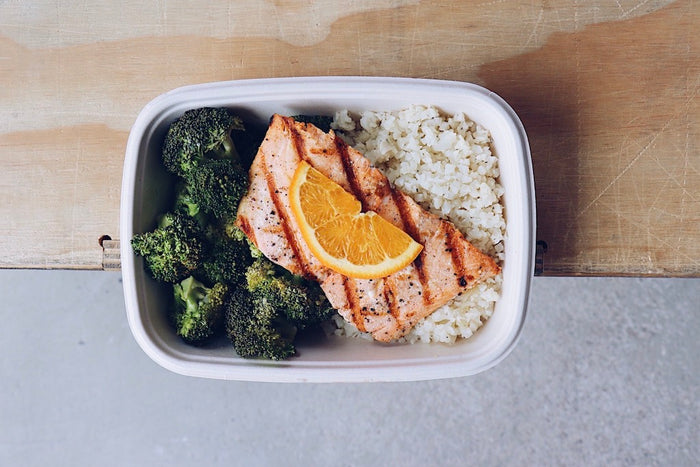 Orange Salmon (Sunday) - Keto Meals - Honey Bee Meals | Healthy Prepared Meals & Food Delivery Toronto