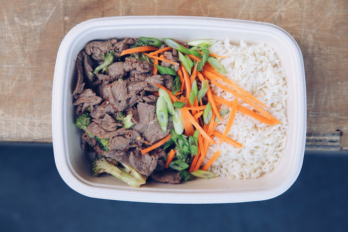 Beef & Broccoli Stir Fry (Wednesday) - Keto Meals - Honey Bee Meals | Healthy Prepared Meals & Food Delivery Toronto