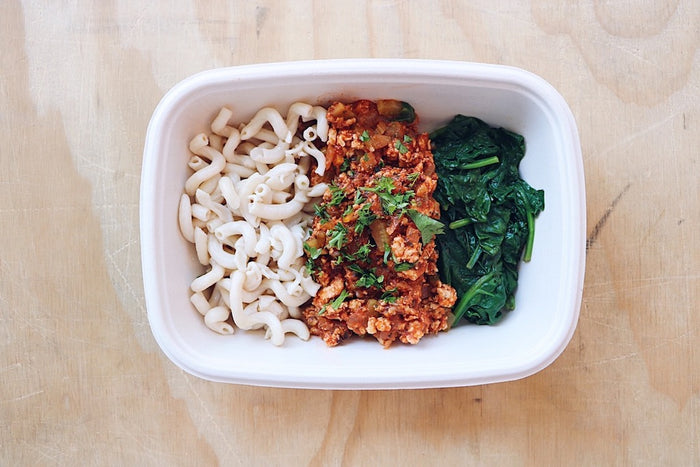 Chicken Bolognese - Paleo Meal - Honey Bee Meals | Healthy Prepared Meals & Food Delivery Toronto