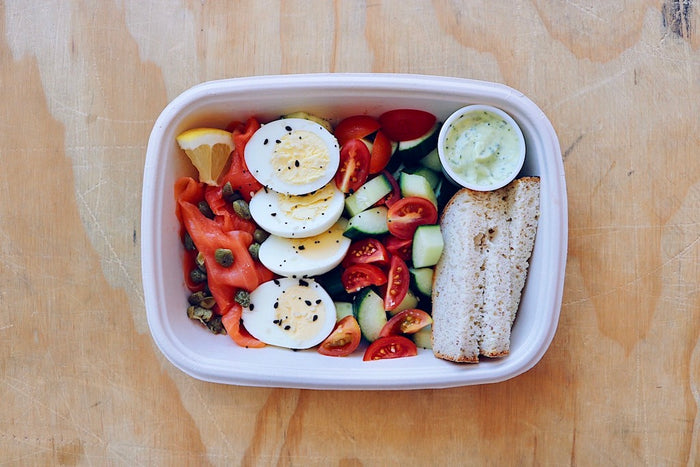 Lox Box (Wednesday) - Healthy Breakfast & Snack - Honey Bee Meals | Healthy Prepared Meals & Food Delivery Toronto