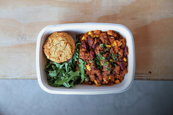 Beef Chili - Healthy Lunch & Dinner - Honey Bee Meals | Healthy Prepared Meals & Food Delivery Toronto
