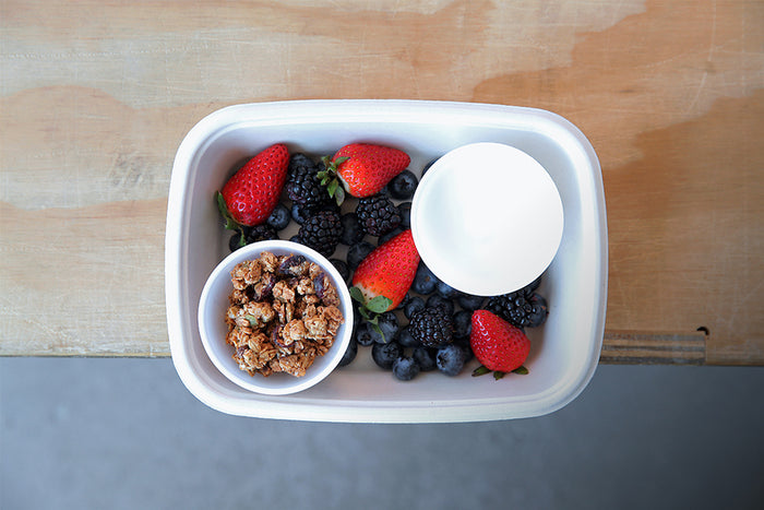 Coconut Yogurt Granola Berries - Healthy Breakfast & Snack - Honey Bee Meals | Healthy Prepared Meals & Food Delivery Toronto