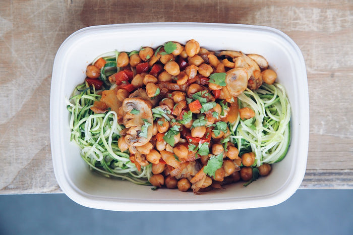 Zesty Chickpea Stir Fry (Sunday) - Vegetarian Meal - Honey Bee Meals | Healthy Prepared Meals & Food Delivery Toronto