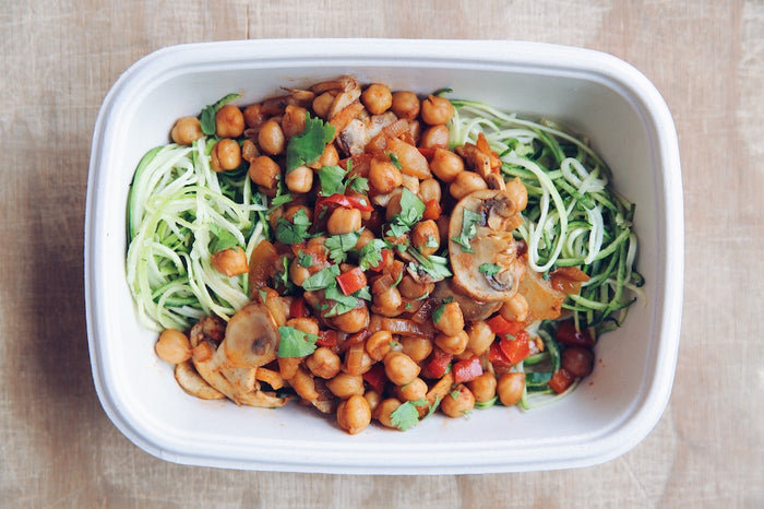Zesty Chickpea Stir Fry (Sunday) - Plant-Based Meal - Honey Bee Meals | Fresh Food Delivery Service Toronto