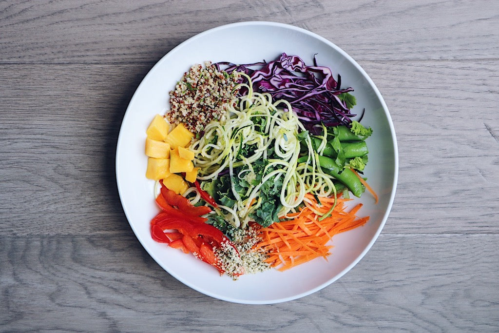 Rainbow Thai Salad (Wednesday)