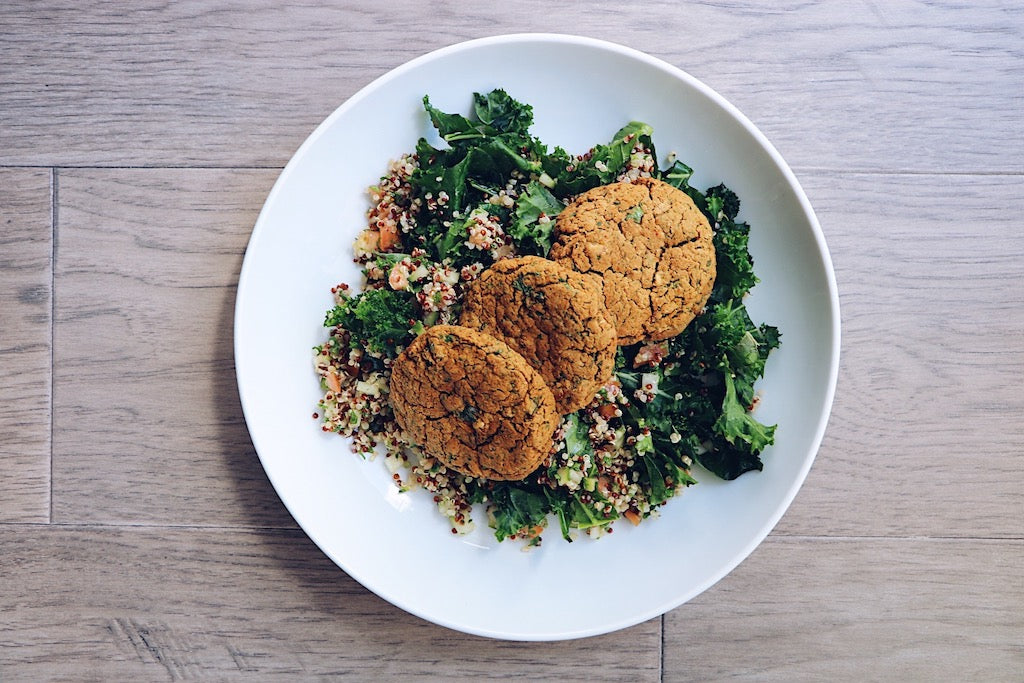 HB Falafel (Wednesday) - Keto Meal - Honey Bee Meals | Toronto Meal Delivery Service