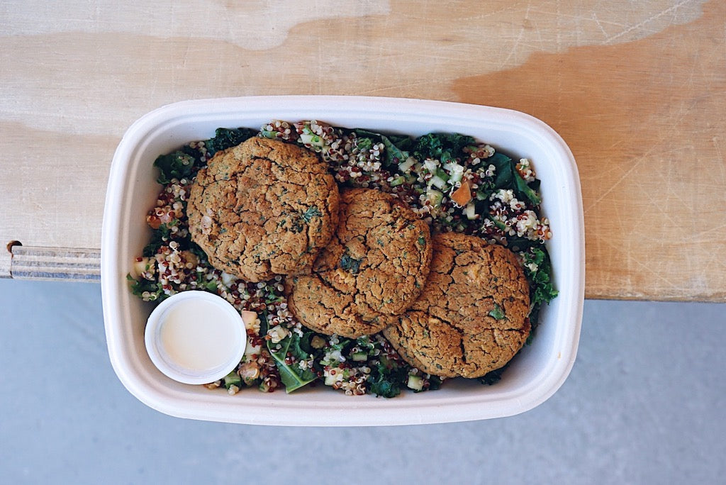 HB Falafel (Wednesday) - Vegetarian Meal - Honey Bee Meals | Healthy Prepared Meals & Food Delivery Toronto