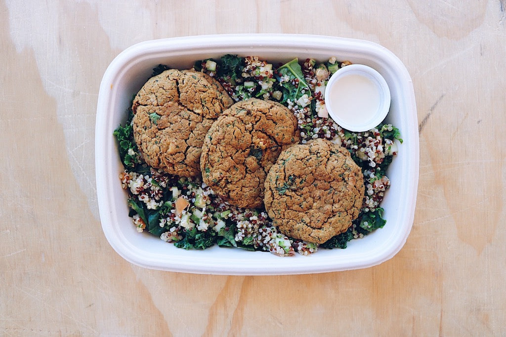 HB Falafel (Wednesday) - Plant-Based Meal - Honey Bee Meals | Fresh Food Delivery Service Toronto