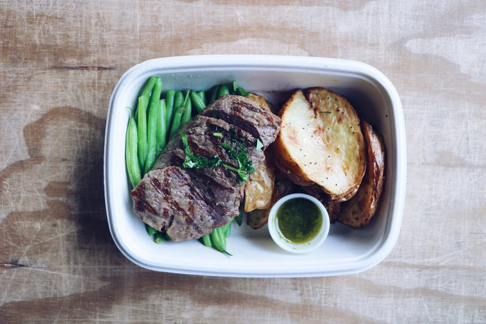 Chimichurri Steak (Sunday) - Gluten Free Meals - Honey Bee Meals | Fresh Food Delivery Service Toronto