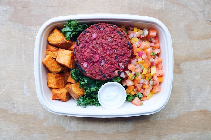 Southwest Beet Burger (Wednesday)