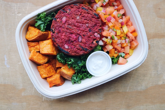 Southwest Beet Burger (Sunday)