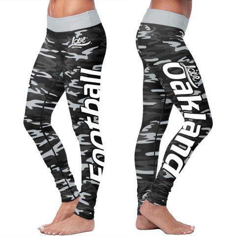 Oakland Football Camo Leggings