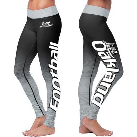 Oakland Football Classic Leggings