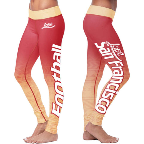 San Francisco Football Classic Leggings