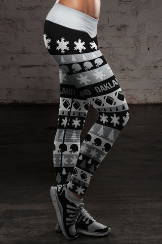 Oakland Ugly Christmas Classic Leggings