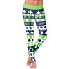 Seattle Ugly Christmas Classic Football Leggings