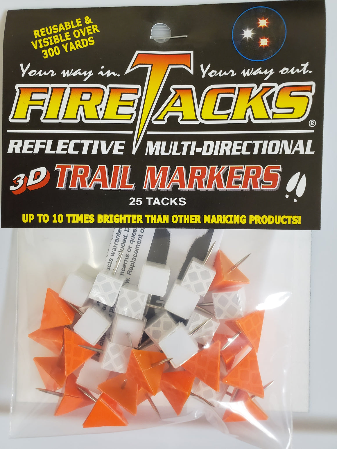 3D Blaze and 4D Ice mix - 16 of each color - ALMOST GONE-FireTacks®