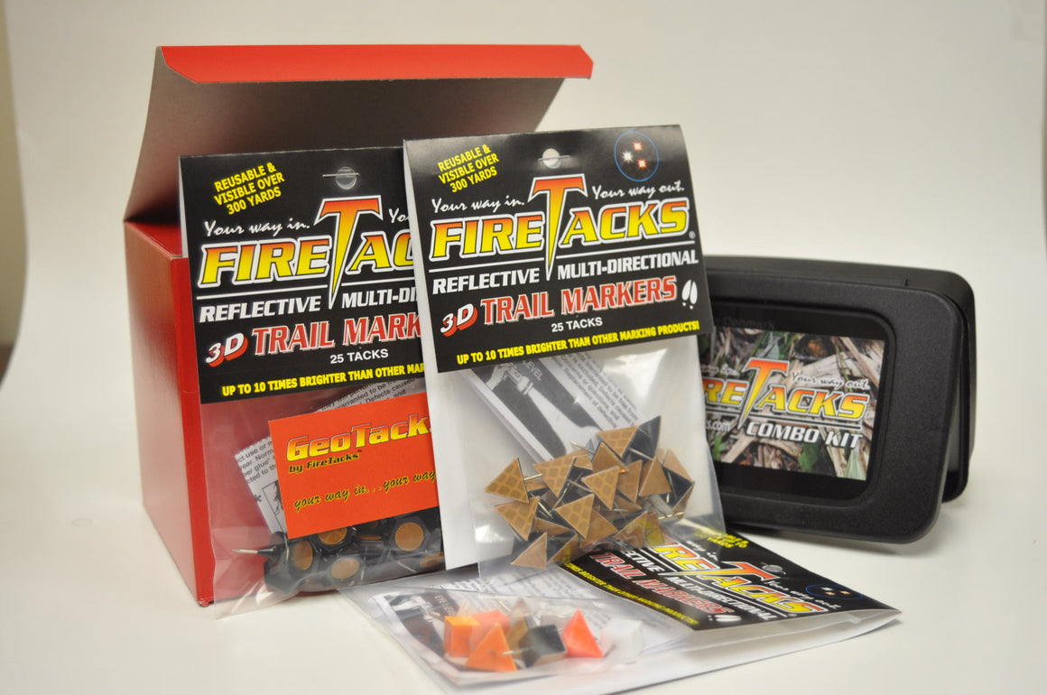 Gift Box Geocache, LARGE-FireTacks®