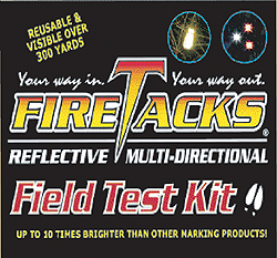 FireTacks® Field Test Kit by FireTacks