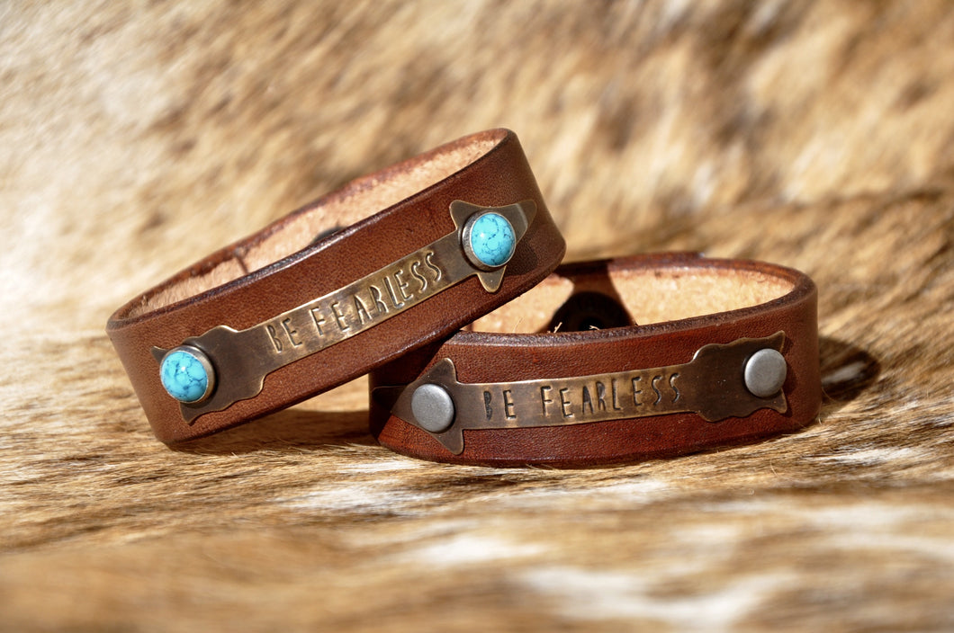 Be Fearless Cuff