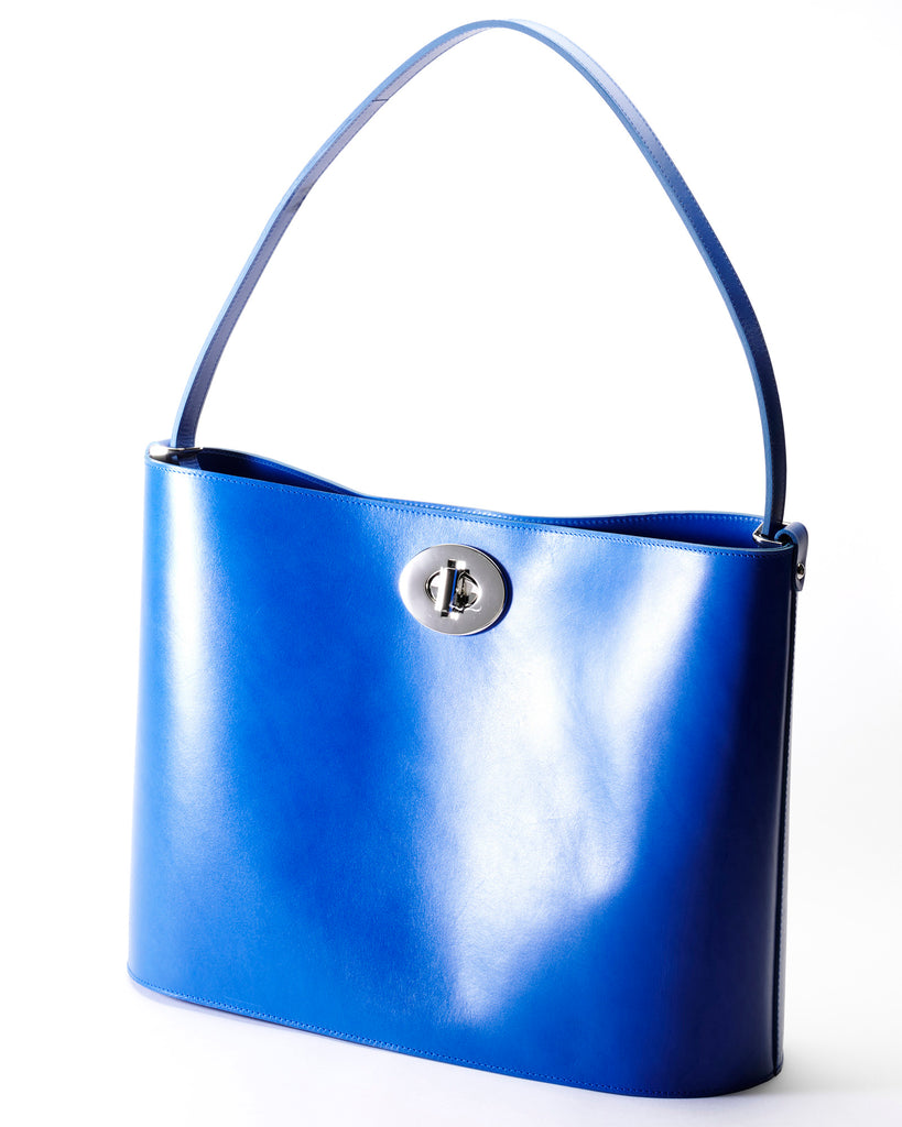 The Darlingmax Large Tote - Blue