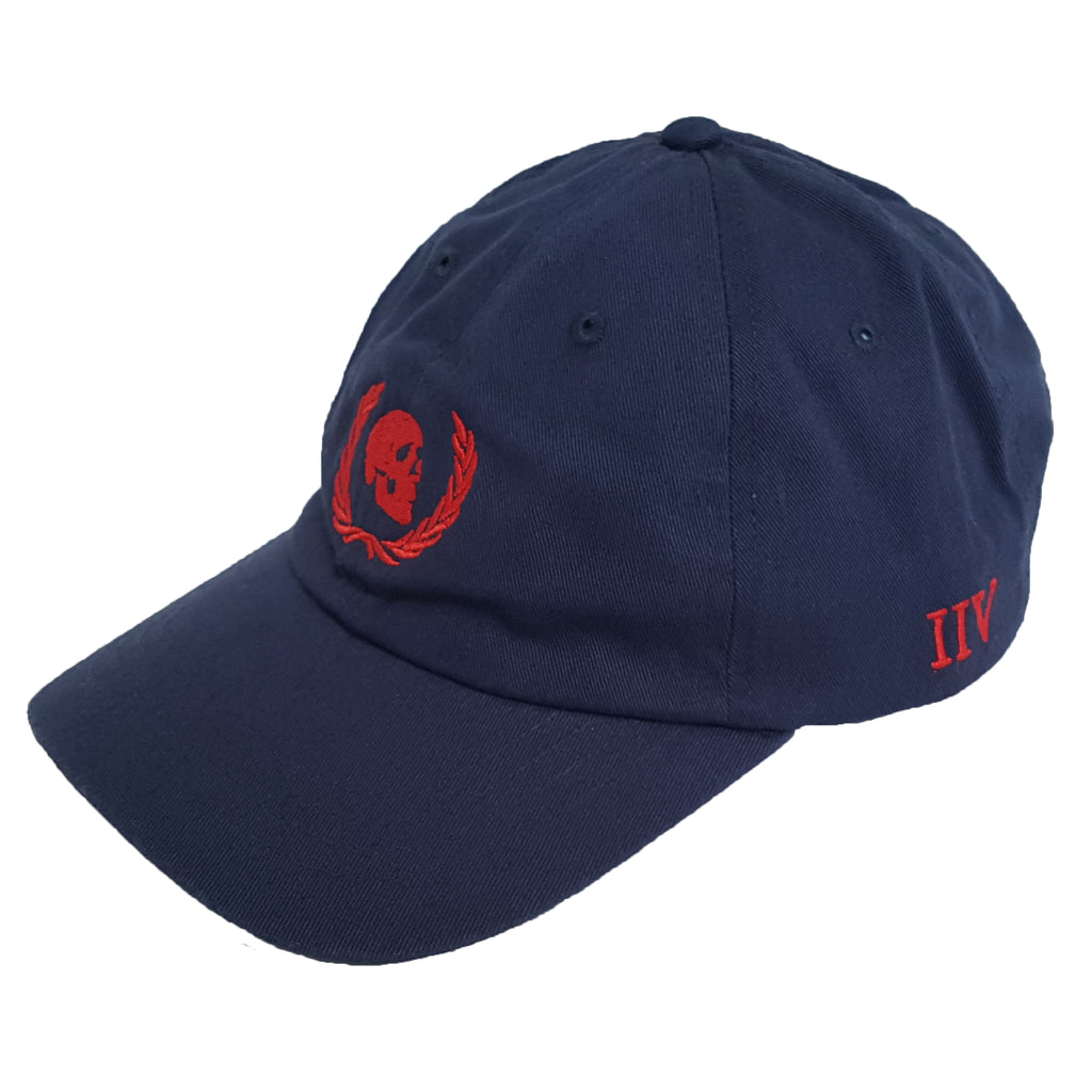 Skull & Wreath Navy Cap