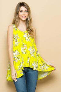 Summer Yellow Blouse