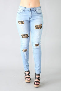 Lightwash Leopard