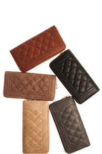 Fashion Quilted Wallet