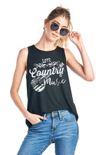Country Music Tank Top