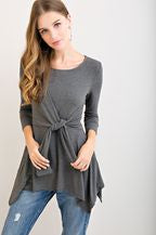 Ash Grey Blouse