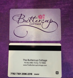 THE BUTTERCUP GIFT CARD
