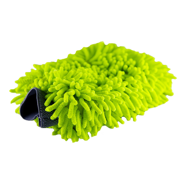 Green Microfiber Wash Mitt
