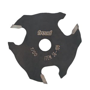 "Freud  56-109 9/16"" depth x 5/32"" Slot Three Wing Slotting Cutter"