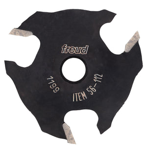 "Freud  56-112 9/16"" depth x 1/4"" Slot Three Wing Slotting Cutter"
