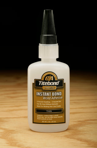 Titebond Instant Bond Wood Adhesive Thin