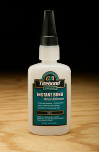 Titebond Instant Bond Wood Adhesive Gel