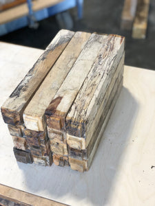 "Spalted Tamarind 1.5"" x 1.5"" x 12"" Turning Blank"