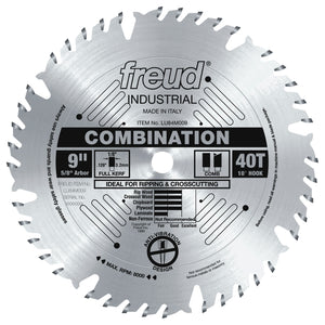 "Freud LU84M009 9"" Combination Blade"