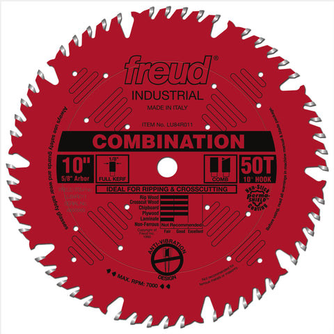 "Freud LU84R011 10"" Combination Blade"