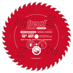 "Freud P410 10"" Next Generation Premier Fusion General Purpose Blade"