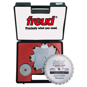 "Freud SD508, 8"" Freud Super Dado Set, 24 Teeth"